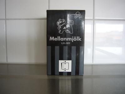黒いミルク