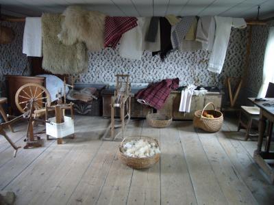 織物の部屋