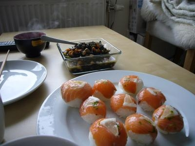思い出手まり寿司