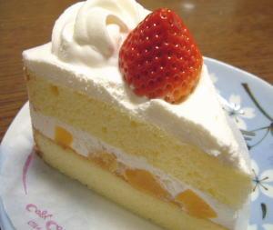 コージーコーナーの「ショートケーキ」。