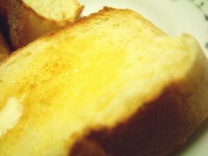 トーストしてバターで♪