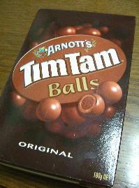 ティムタム ボールズ。