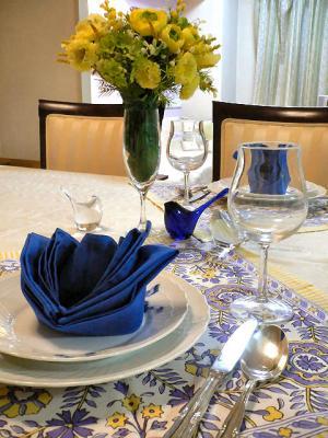 ハーフバースデイのテーブル