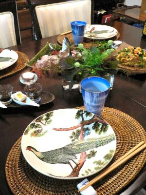 沖縄料理 テーブルコーディネート
