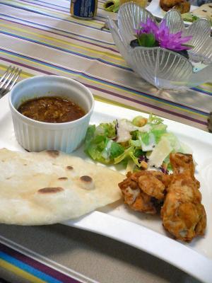 インド料理でおもてなし