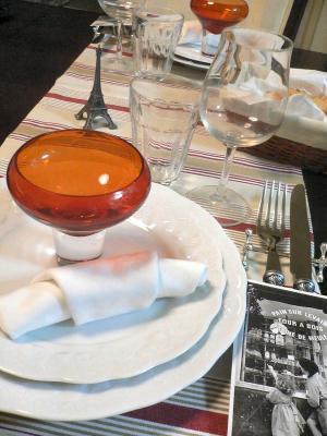 パリ祭のディナー
