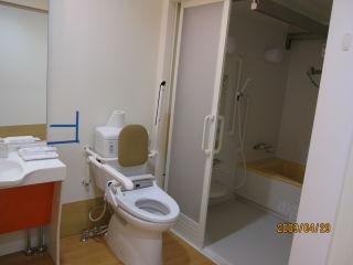訓練室・トイレ