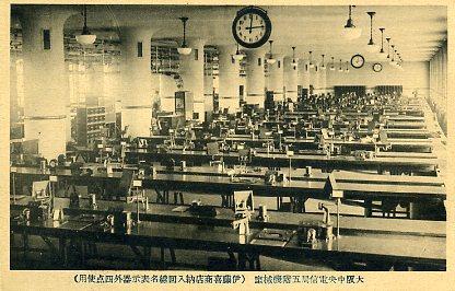 大阪中央電信局5階機械室