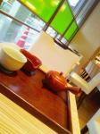 雨の茶房。