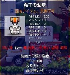 覇王の勲章