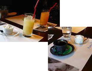 08 ドリンクとコーヒーとデザート
