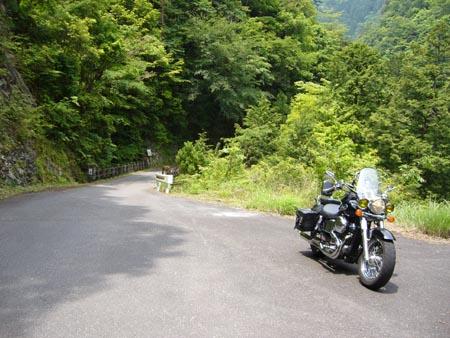 笹の滝へ向かう林道で