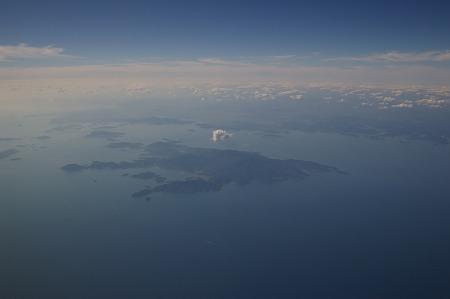 小豆島上空