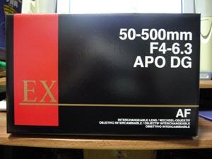 SIGMA APO 50-500mm F4-6.3 EX DG