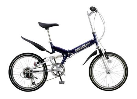 安物折りたたみ自転車