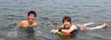 海水浴4重と恵ブログ