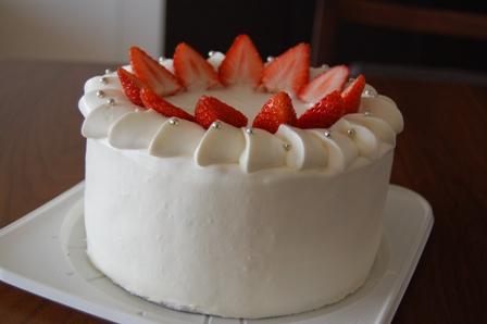 卵なしケーキ
