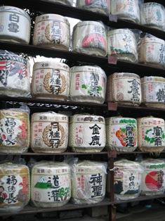 梅宮神社 酒樽