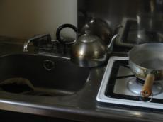 ロッジ キッチン