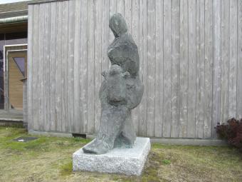 風の母子像1