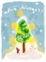 クリスマス 絵
