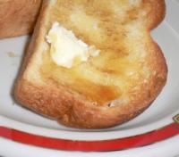メイプルシロップ&バター