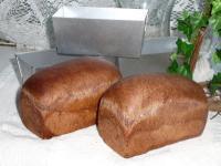 ココアとピーカンナッツのミニ食パン
