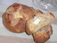 オレンジピールとクリームチーズのパン
