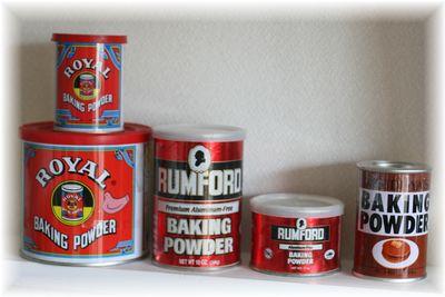 ベーキングパウダー缶