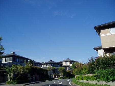 外観は似た造りな・・新興住宅地