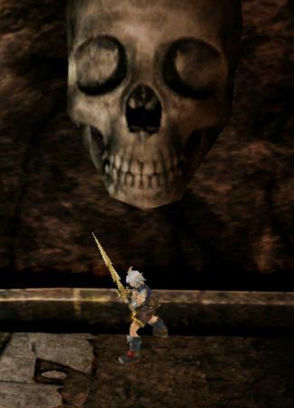 ヘラムの大きな髑髏
