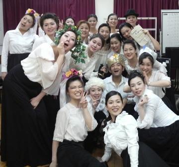 オペラ研修所予科第54期生たち
