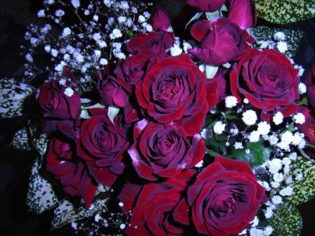 6月11日贈られた花束