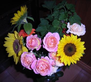 6月11日いただいた花束