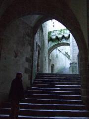 モン・サン・ミッシェル修道院入口
