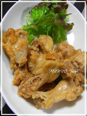 鶏手羽元のスッパ煮