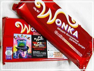 wonka チョコレート