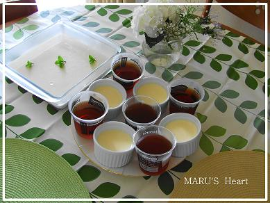 冷たいデザート3種