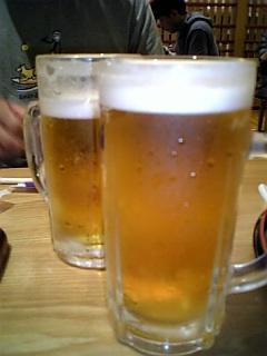 誕生日ビール