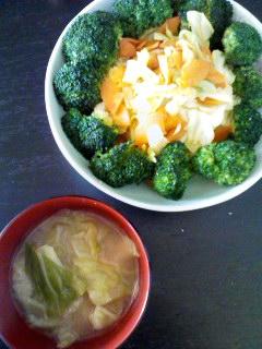 あるもの野菜炒め