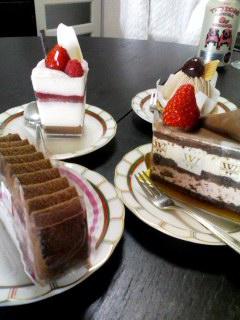ケーキ達♪