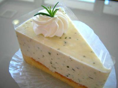 バジルチーズケーキ