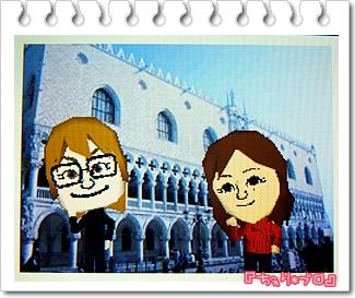 イタリアで記念撮影♪