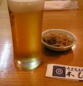 「本むら庵」ビール