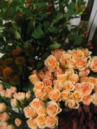 レッスンのお花