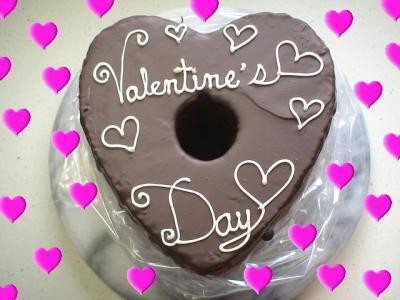 バレンタインチョコデコ1