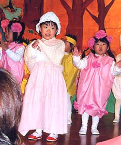 クリスマス会の劇