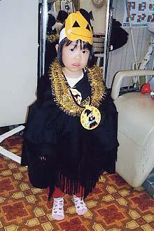 ハロウィンのパンプキンおばけちゃん
