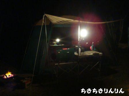 夜スクリーンテント