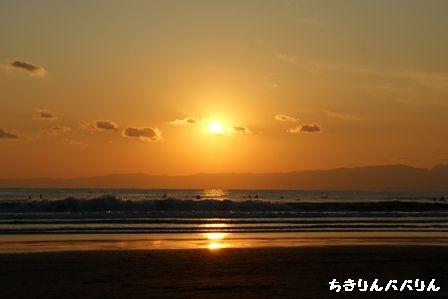 江ノ島夕焼け